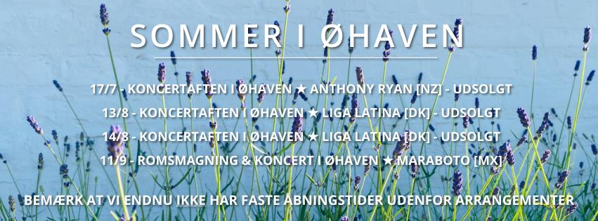 Øhaven Romsmagning & koncert d. 11/9